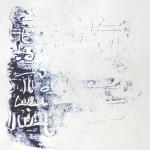 Ecritures Bleues - Monotype - 2008