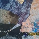 Acrylique et collage - 20x50 cm - 2019